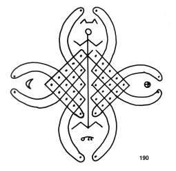 Sona sand drawing from the Tchokwe people