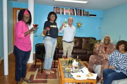 Fatou Weston, Pam Weston, Chris Calhoun, Randy, Margaret