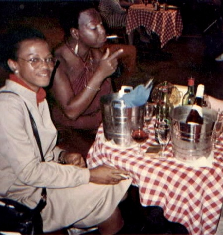 NinaSimone & MB, March '84