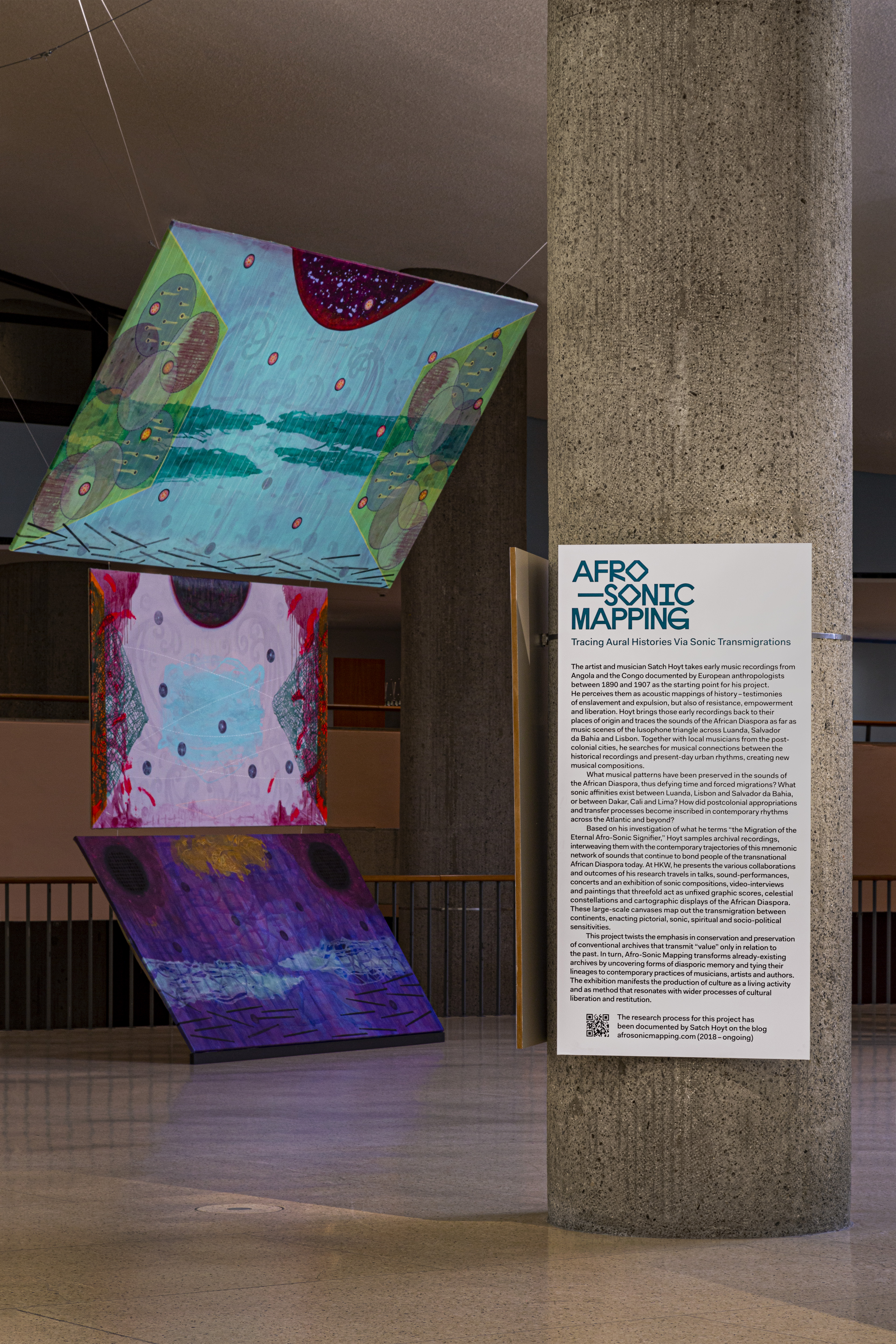 Afro-Sonic Mapping Installation